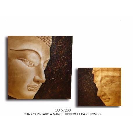 Pack 2 cuadros Budas Zen